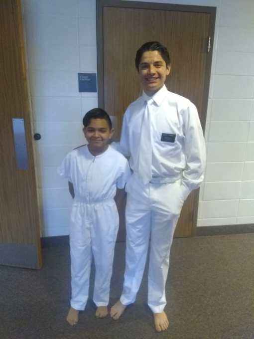 Carson Baptism
